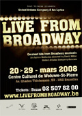 Live from Broadway titre>