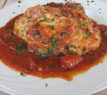 Steak à l'italienne